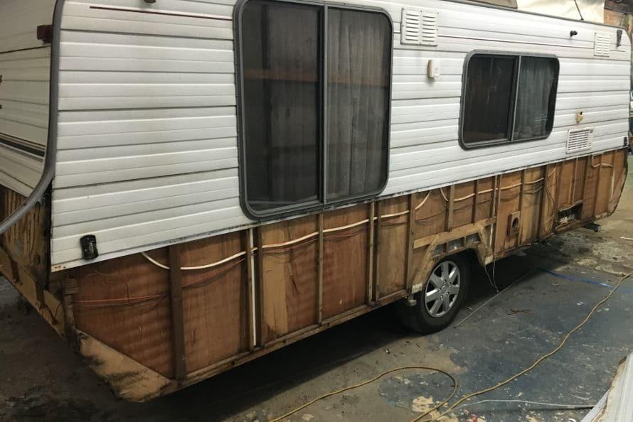 caravan insurance repairs to body