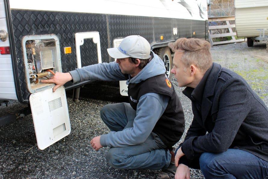 caravan service centre - customer service