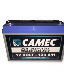 CAMEC 120AHSLA AGM battery