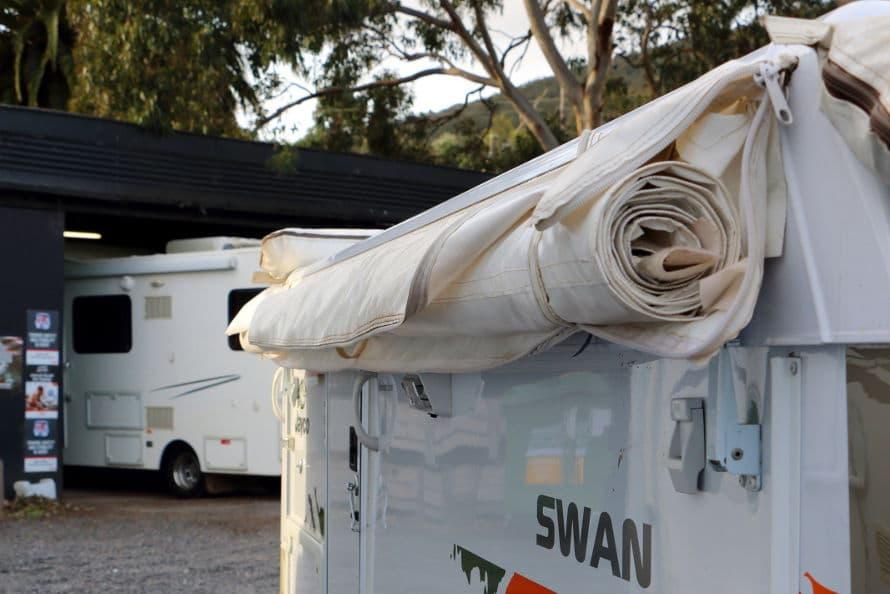 caravan repairs - canvas and awnings