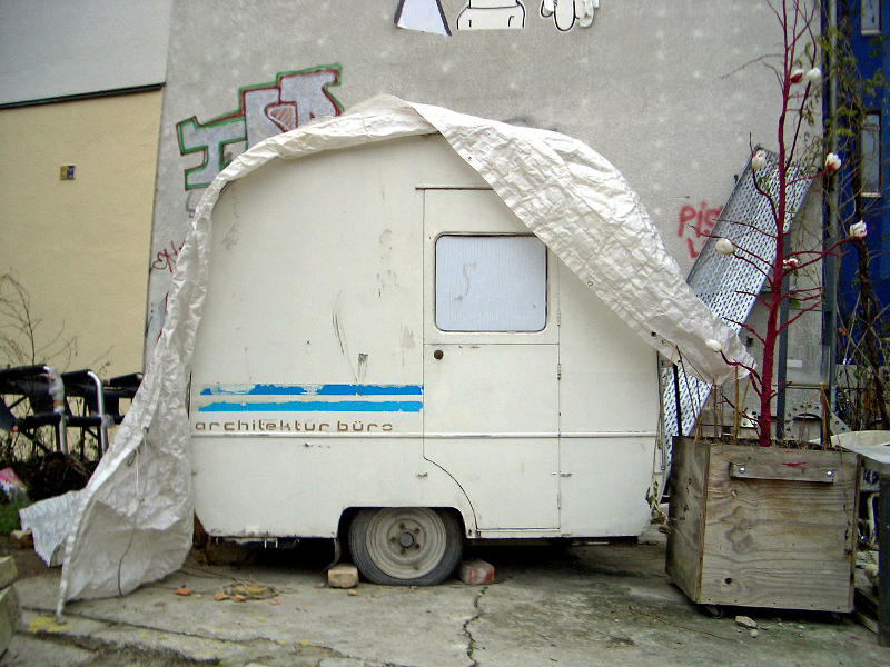 caravan maintenance in winter