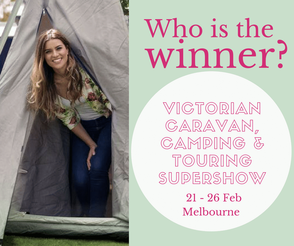 Caravan Camping Touring Supershow Competition Winner 2018