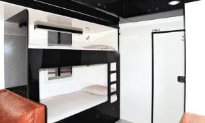 Mack truck horse float - caravan revamp project - bunkbeds