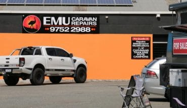 Emu Caravan Repairs Melbourne new location