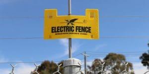 secure caravan storage Ferntree Gully electric fence
