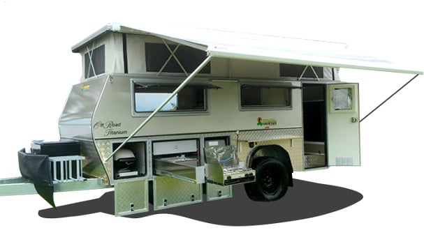 15ft off road titanium camper trailer
