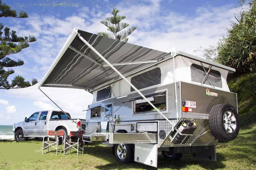 North Coast Campers for sale at Emu Caravan Repairs