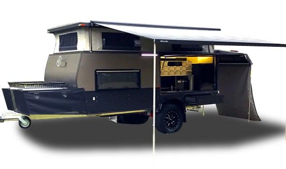 sniperx offroad camper trailer